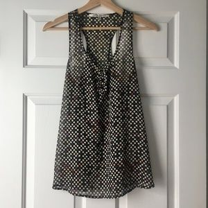 Collective Concepts Dot Tunic, S